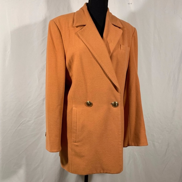 Escada Jackets & Blazers - Laurel by Escada Tangerine Jacket